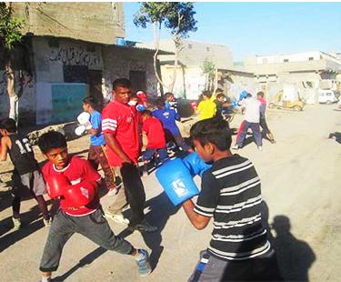 Faqir Colony Boxing Club Closed For Boxers