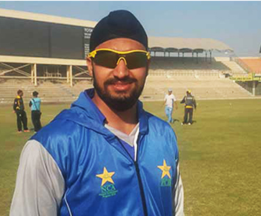 First Sikh To Play Cricket In Pakistan