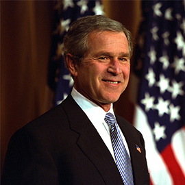 George W. Bush Press Should Be Accurate