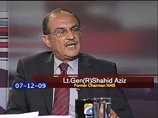 Hamid Mir's Plays Interview Of Former Chairman NAB