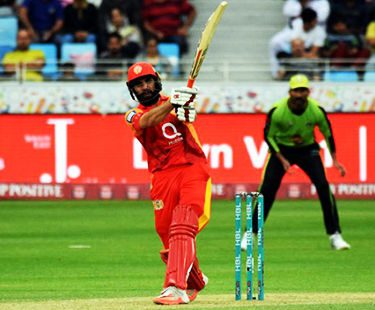Hong Kong T20 Blitz: Misbah Smashes Huge Sixes