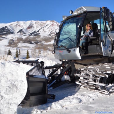 How Do You Drive A Snow Cat?
