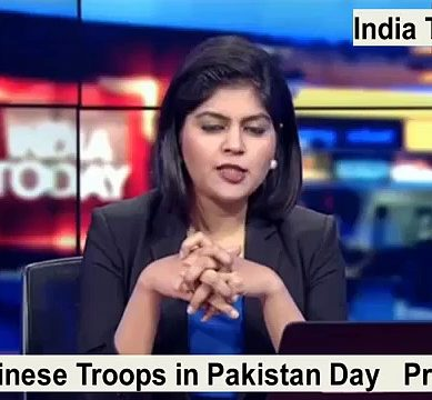 Indian Media's Report On Chinese Military Participation In Pakistan Day Parade