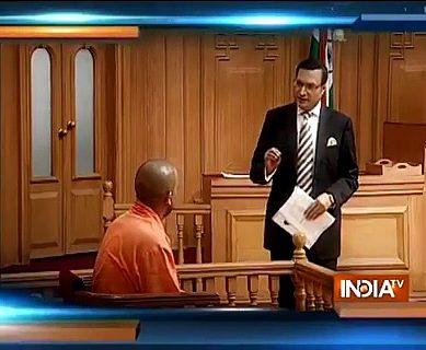 Indian Anchor Insults Yogi Adityanath
