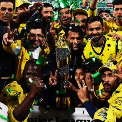 Peshawar Zalmi Win Pakistan Super League 2017