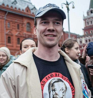Russian Activist Lidar Dadin Freed From Jail