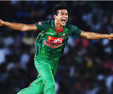 Taskin Ahmed First Hat-Trick Against Sri Lanka