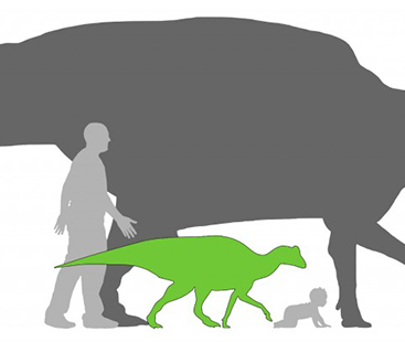 This Is How Humans Size Up In Comparison To Dinosaurs