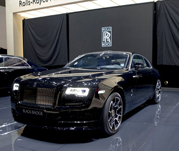 This Rolls-Royce Ghost Comes With A Night Vision Camera