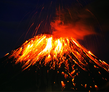 Europe's Largest & Most Active Volcano Has Been Spewing Lava For Days