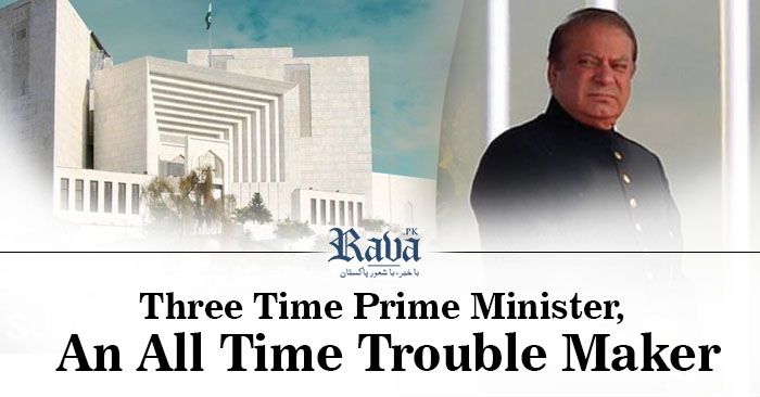 Three Time Prime Minister, An All Time Trouble Maker