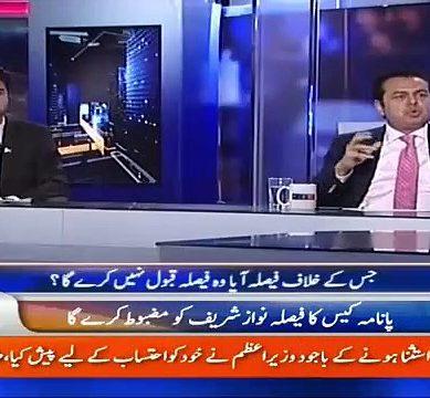 Panamagate Verdict: Hamid Mir Asks Talal Chauhdry About PMLN's Strategy