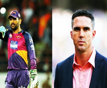 MS Dhoni Trolls Kevin Pietersen During Live Match