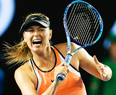 Sharapova Gets Warm Welcome After 15 Months Doping Ban