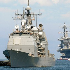 Official: Miscommunicated US 'Armada' Location