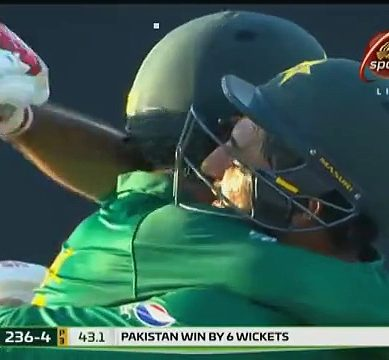 Shoaib Malik's Century Carries Pakistan To A Wonderful Win