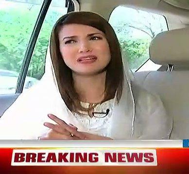 Reham Khan Talks About Rumours On Divorce