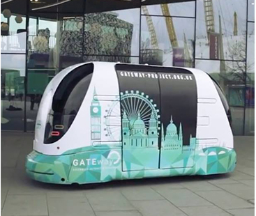 London Is Testing Out Self-Driving Shuttles