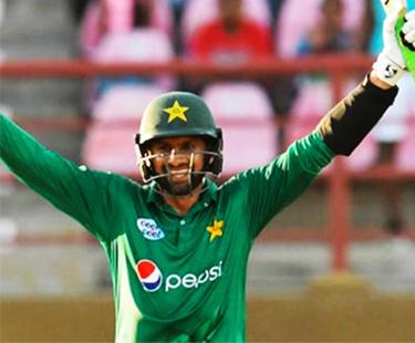 Shoaib Malik Hits Ton As Pakistan Down West Indies To Win ODI Series