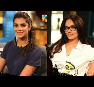 Aamina Sheikh And Sanam Saeed On Tonite with HSY – April 16, 2017