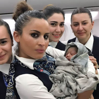 Baby On Plane: Woman Delivers Baby Girl On Turkish Airlines Plane At 42,000ft
