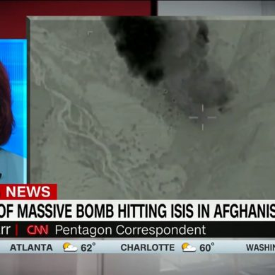 Video: Massive Bomb Hits ISIS In Afghanistan