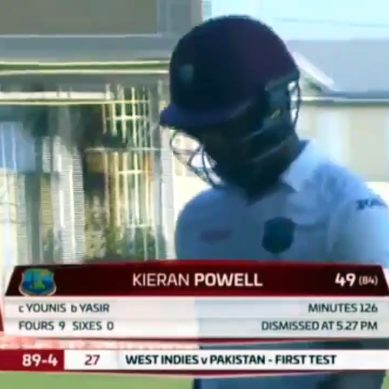 Yasir Shah Takes Six Wickets Against West Indies