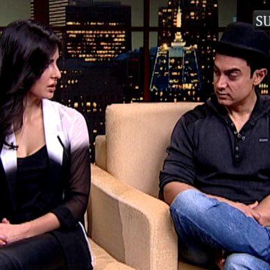 Aamir Khan Teases Katrina Kaif