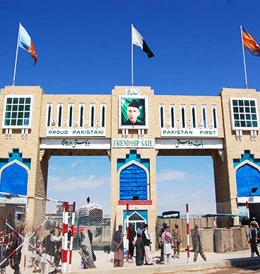 Tension At Pak-Afghan Chaman Border