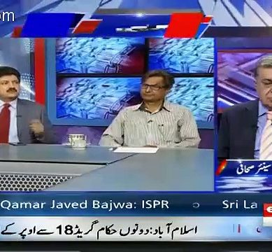 Hamid Mir's Revelations In A Live Show