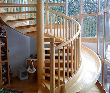 Diy Spiral Staircase