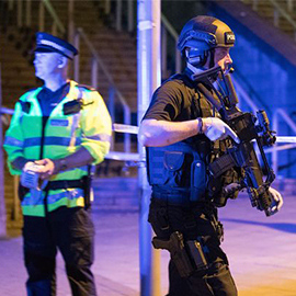 Explosion Inside Manchester Arena