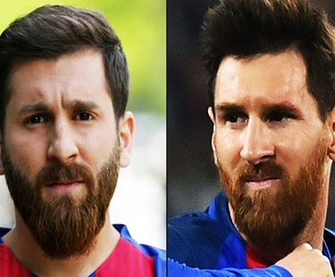 The 'Iranian Messi': Barcelona Star's Lookalike Taken To Police Station