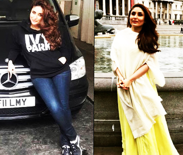 Kareena Kapoor Returns From London In A Stunning Look