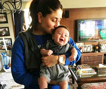 Kareena Kapoor's Baby Taimur Spotted Playing Adorably