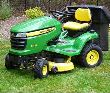 Remote-Controlled Lawn Mower