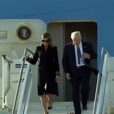 Melania Again Appears To Refuse Donald Trump's Attempted Hand-Hold In Rome