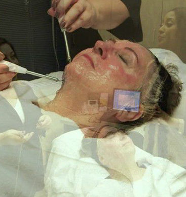 Microcurrent Facial Giving Faces A Workout