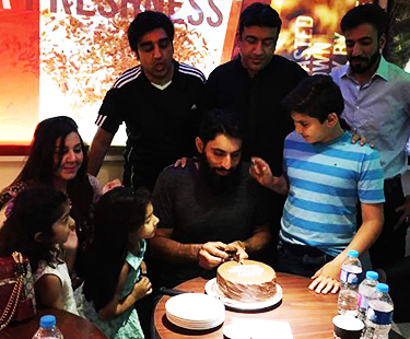 Misbah Celebrates 43rd Birthday With Friends And Family