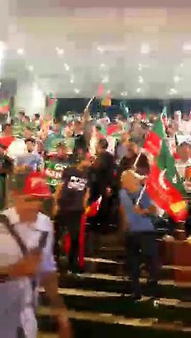 PTI-Workers-Waiting-For-Nawaz-Sharif-Welcome-At-Hong-Kong-Airport