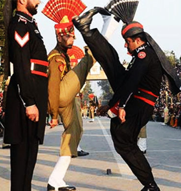 Indian Forces Arrest Man For Crossing Wagah Border