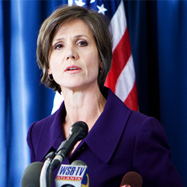 Yates Defends Decision To Defy Trump Travel Ban