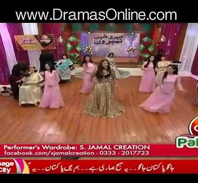 Sana Nawaz's Dance In Morning Show