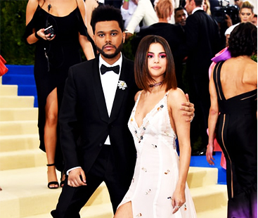 Selena Gomez With The Weeknd Is The Most Liked Post Of The 2017 Met Gala