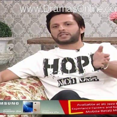 Shahid Afridi Smashed TV
