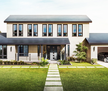 Tesla's Comes Up With Its Own New Solar Roof