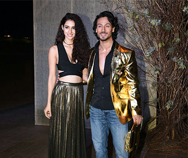 Tiger Shroff & Disha Patani Arrive Together At Karan Johar's Birthday Bash