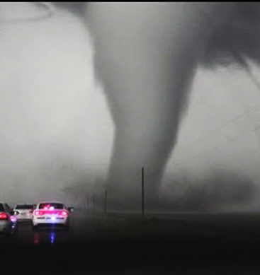 Traffic Jams Put Tornado Chasers' Lives In Trouble