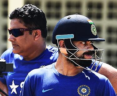 Virat Kohli Unhappy With Head Coach Anil Kumble?