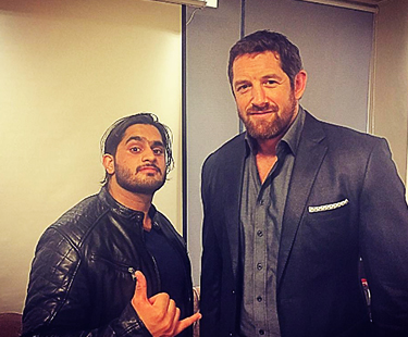 Wade Barrett At First Ever Wrestling Event In Pakistan